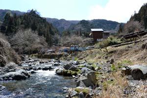 トラウトファーム秋川渓流写真