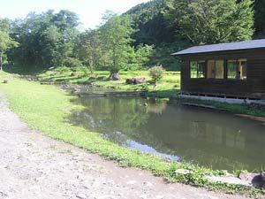 発知渓流つりセンター写真
