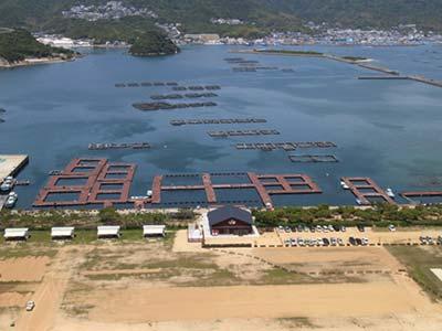 淡路じゃのひれフィッシングパーク海上釣堀・桟橋画像