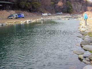 片品川国際マス釣り場画像