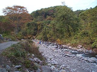 川俣川渓流釣場画像