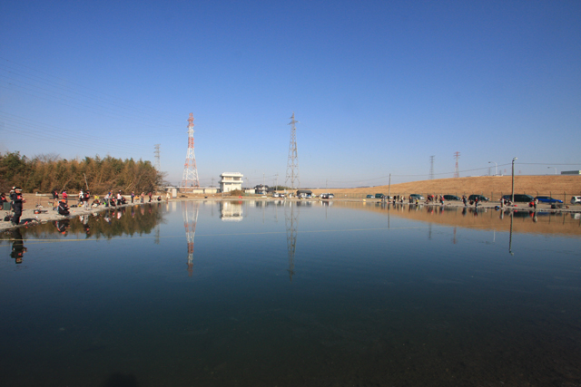 鬼怒川フィッシングエリア北池写真