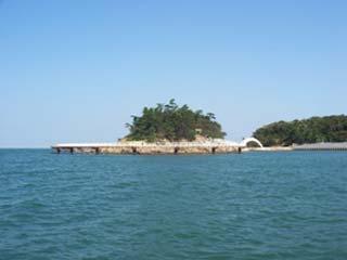 南あわじ市丸山海釣り公園海上釣堀・桟橋画像