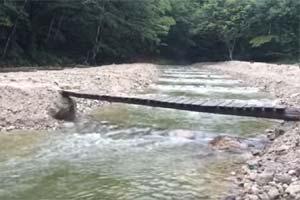 三依渓流釣り場写真