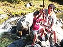 奥秩父源流中津川釣り場お子様でも楽しめます写真