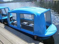 榛名湖・ロマンス亭ドームボート写真