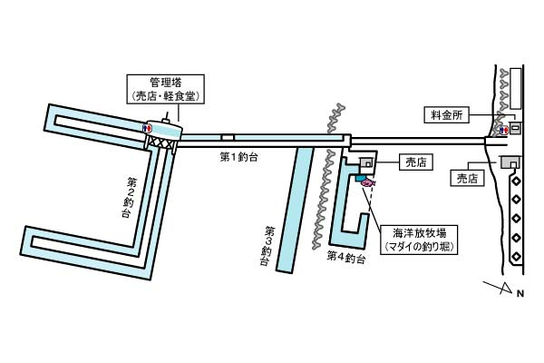 神戸市立須磨海づり公園写真