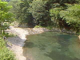 ようらく渓流釣り場画像